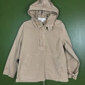J Crew Button pullover hoodie